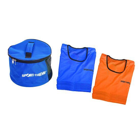 Sport-Thieme Kit de chasubles « Stretch Premium » Adultes, jaune/bleu