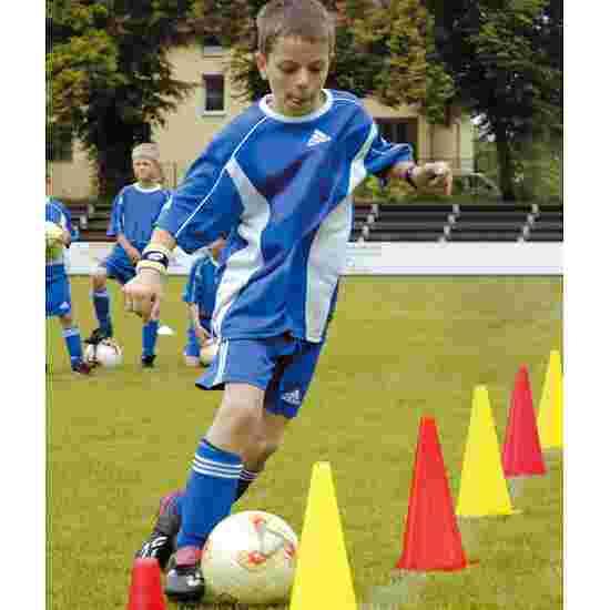 Sport-Thieme Lot de 10 cônes de signalisation Sport-Thieme 20,5x20,5x37 cm