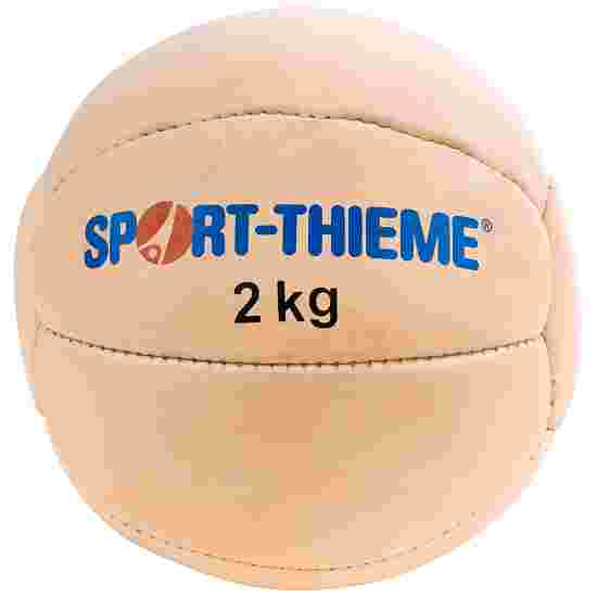 Sport-Thieme Medecine ball « Tradition » 2 kg, ø 25 cm
