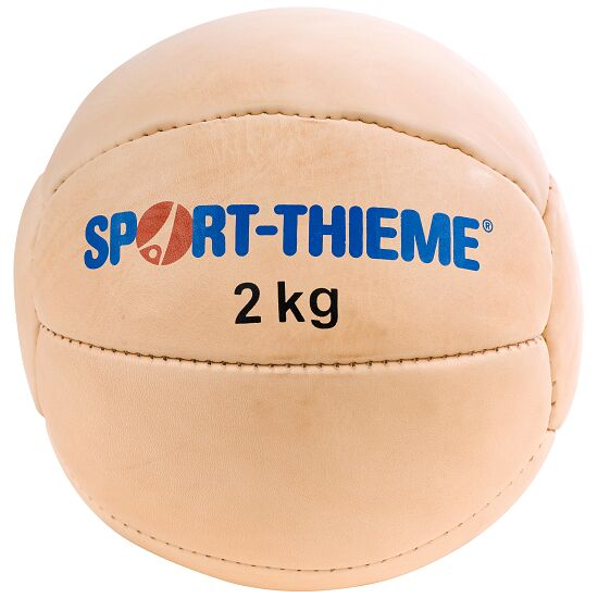 "Sport-Thieme Medicinebal ""Tradition"" 2 kg, ø 25 cm"