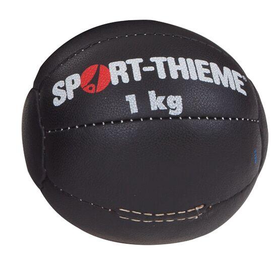 "Sport-Thieme® Medicinebal ""Zwart"" 1 kg, ø 18 cm"
