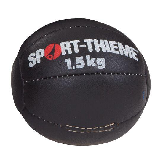 "Sport-Thieme® Medicinebal ""Zwart"" 1,5 kg, ø 19 cm"