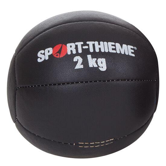 "Sport-Thieme® Medicinebal ""Zwart"" 2 kg, ø 22 cm"