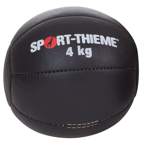 "Sport-Thieme® Medicinebal ""Zwart"" 4 kg, ø 25 cm"