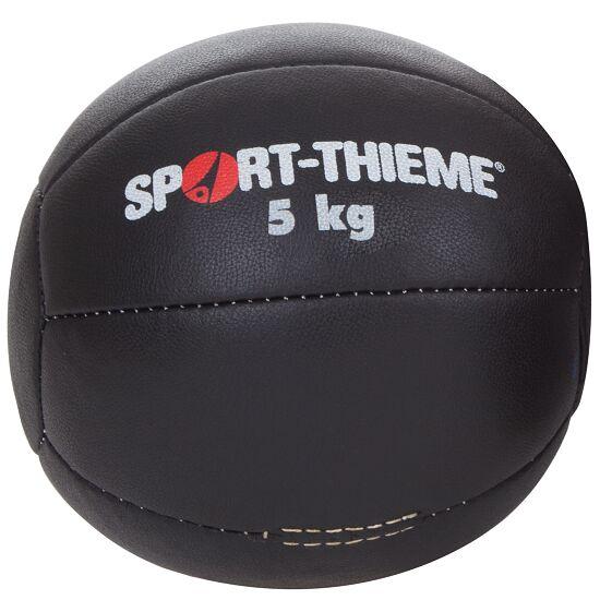 "Sport-Thieme® Medicinebal ""Zwart"" 5 kg, ø 28 cm"