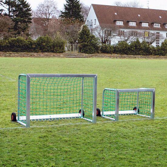 "Sport-Thieme® Mini-Voetbaldoel ""Safety"" 1,20x0,80 m, Incl. net, groen (mw 10 cm)"