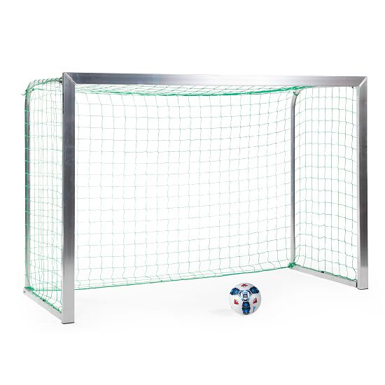 Sport-Thieme® Minitraining doel, met opvouwbare netbeugels 2,40x1,60 m, diepte 1,00 m, Incl. net, groen (mw 10 cm)