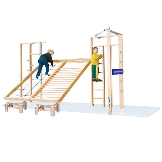 Sport-Thieme Mur d'escalade rabattable combinable TuWa Sans tapis de protection antichute