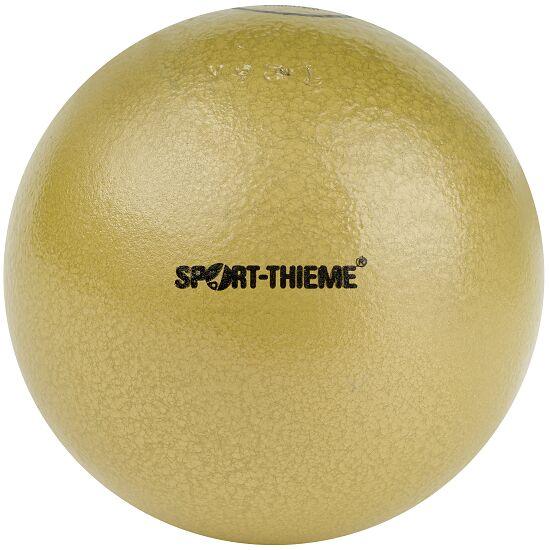 Sport-Thieme Poids de compétition « Fonte » 7,26 kg, jaune, ø 126 mm