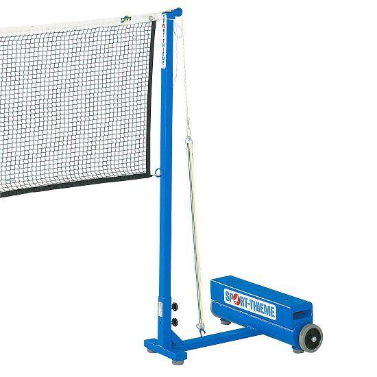 Sport-Thieme Poteaux de badminton avec lest Système à courroie