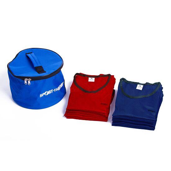 "Sport-Thieme Set Teamhesjes ""Premium"" Jeugd, rood/blauw"