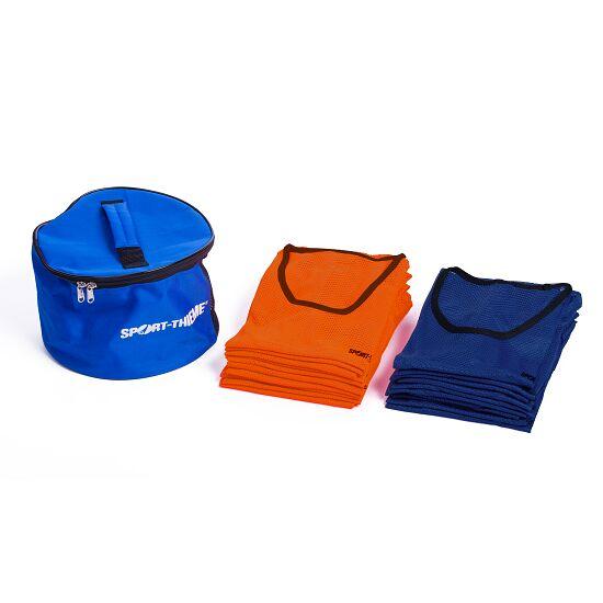 """Sport-Thieme Set Teamhesjes """"Premium"""" Volwassenen, oranje/blauw"""