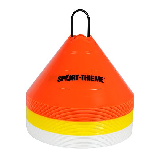 Sport-Thieme® Sport-Thieme® Set Markeringshoedjes, ø 30 cm