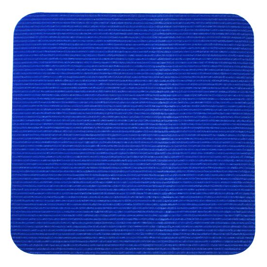 Sport-Thieme® Sporttegel Blauw, Vierkant, 30x30 cm