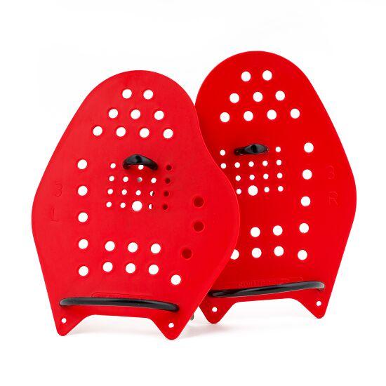 Sport-Thieme® Swim-Power® Paddles Maat L, 23x19 cm, rood