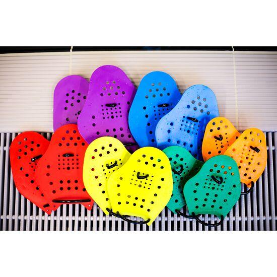 Sport-Thieme® Swim-Power® Paddles Maat XS, 17x13 cm, oranje