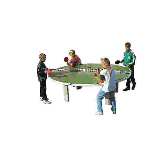 Sport-Thieme Table de tennis de table en béton polymère « Rondo » Vert