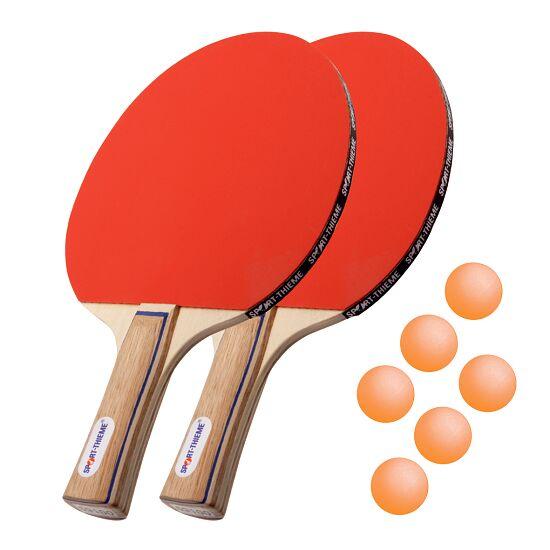 "Sport-Thieme® Tafeltennisbat-Set ""Paris"" Oranje balletjes"