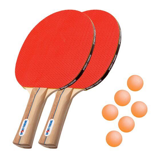 "Sport-Thieme® Tafeltennisbat-Set ""Rom"" Oranje balletjes"