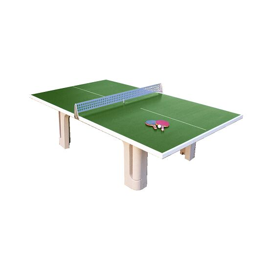 """Sport-Thieme® tafeltennistafel """"Profi"""" van polymeerbeton  Groen"""