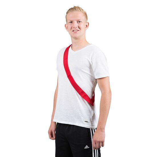 Sport-Thieme Teamband Volwassenen, L: 65 (130) cm, Rood