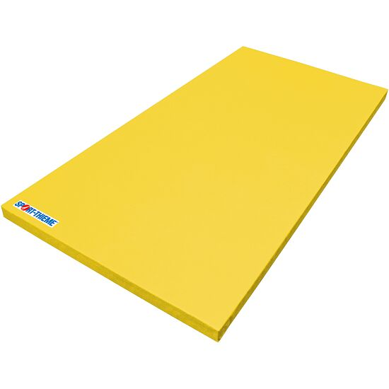 """Sport-Thieme® Turnmat """"Superlicht"""" Geel, 200x100x6 cm"""