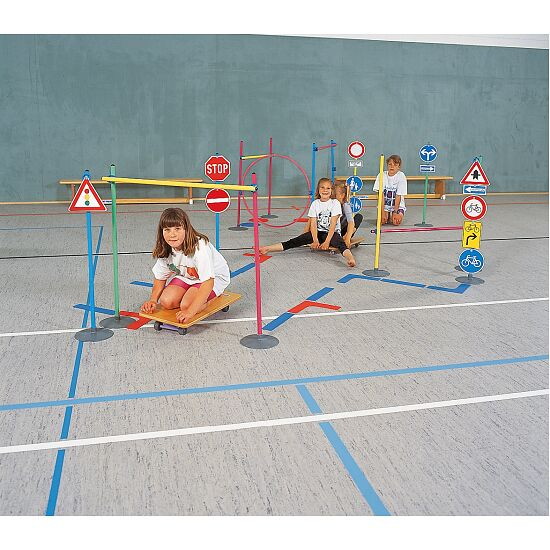 Sport-Thieme® turnstaaf van kunststof 100 cm, Geel