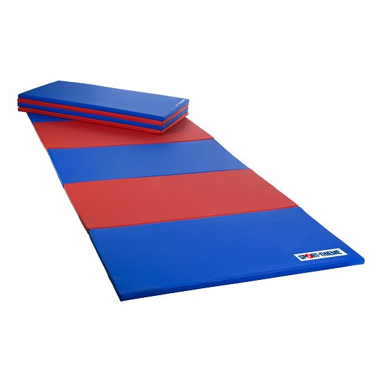Sport-Thieme® Vouwmat 240x120x3 cm, Blauw-rrod