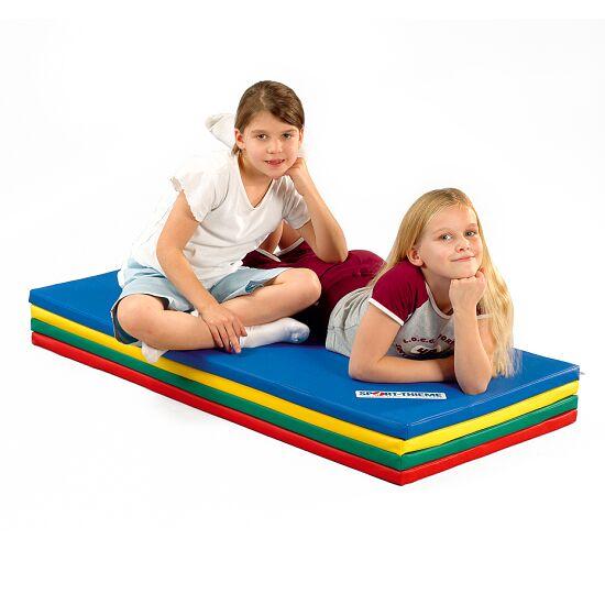 Sport-Thieme® Vouwmat 240x120x3 cm, Blauw-geel-groen-rood