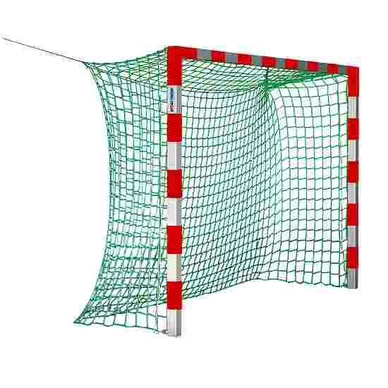 Sport-Thieme Zaalhandbaldoel 3x2 m, zonder Netbeugel Rood-zilver
