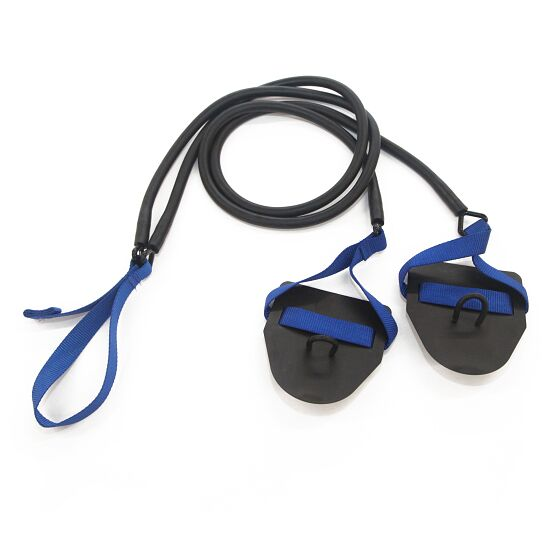 StrechCordz® met handpaddles Blauw, treksterkte 6,3-15,4 kg