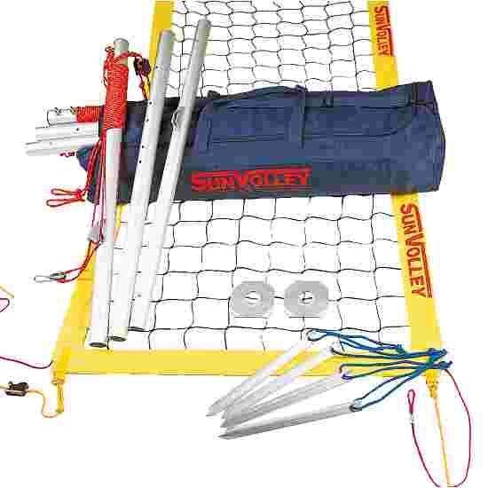 SunVolley Installation de beach-volley « Plus » Sans lignes de délimitation, 9,5 m