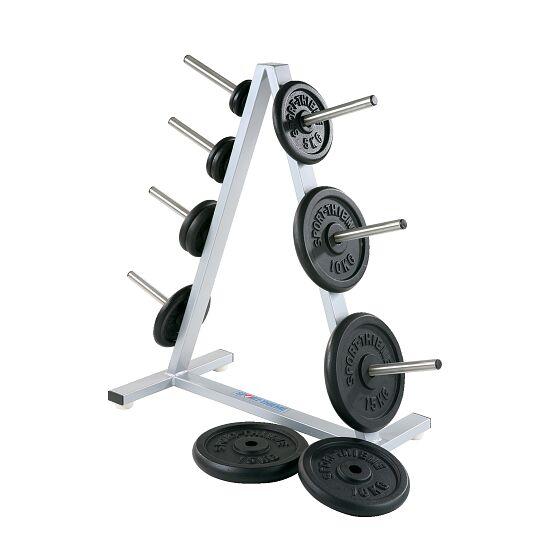 Support Sport-Thieme® pour disques d'haltère 30 mm, 7 emplacements