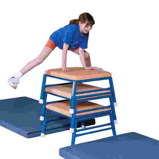 Tabouret de saut et de gymnastique Sport-Thieme Cuir, naturel