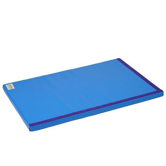 Tapis de gymnastique combinable Reivo® « Sécurité » Polygrip bleu, 150x100x6 cm