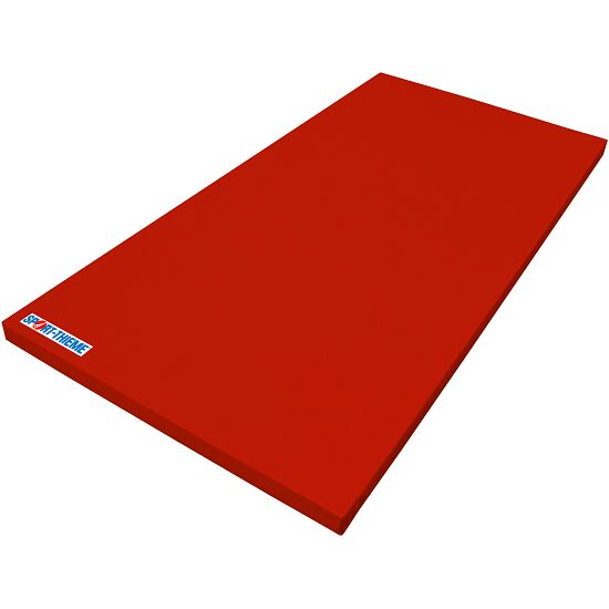 Tapis de gymnastique Sport-Thieme « Super léger » Rouge, 200x100x6 cm