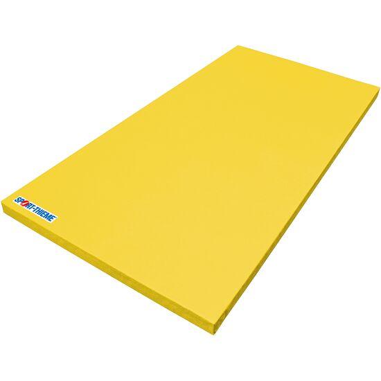 Tapis de gymnastique Sport-Thieme « Super léger » Jaune, 200x100x8 cm