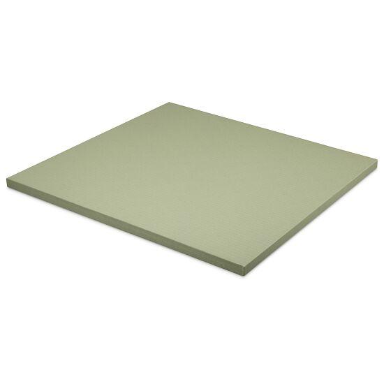 Tapis de judo Sport-Thieme Dalle d'env. 100x100x4 cm, Vert olive