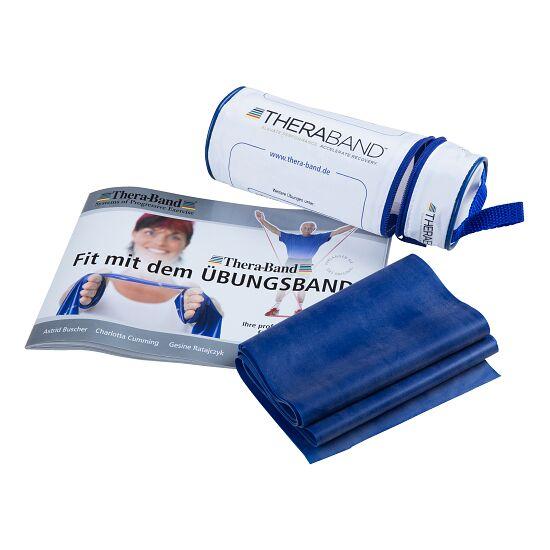 Thera-Band® 250 cm in opbergtasje met ritssluiting Blauw, extra sterk