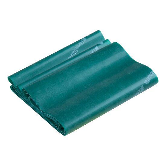 TheraBand™ 250 cm in opbergtasje met ritssluiting Groen, sterk
