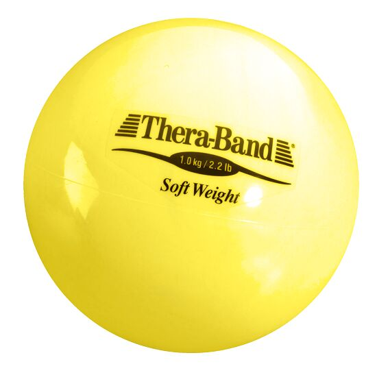 TheraBand™ Balle lestée Jaune, 1 kg