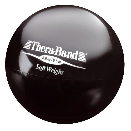 TheraBand™ Balle lestée Noir, 3 kg