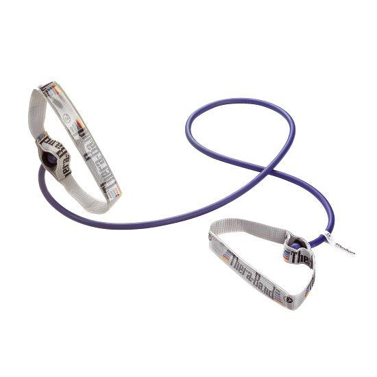 TheraBand™ Bodytrainer Tubing 1,4 m met handgrepen Blauw, extra sterk