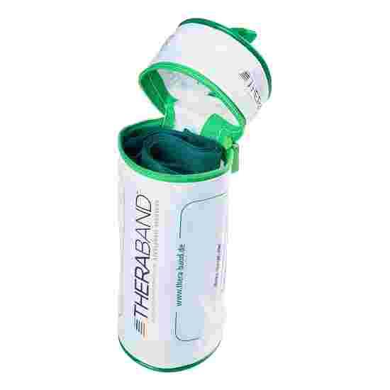 TheraBand 250 cm dans un étui zippé Vert, difficile
