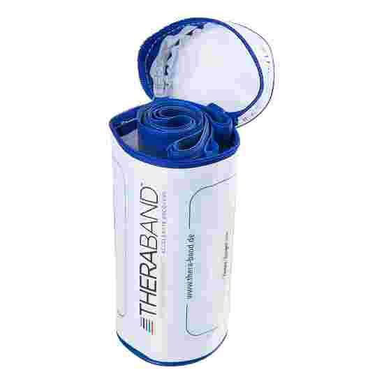 TheraBand 250 cm dans un étui zippé Bleu, très difficile