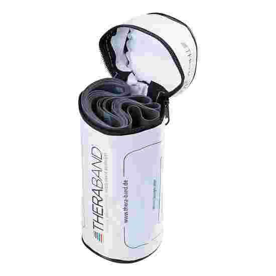 TheraBand 250 cm dans un étui zippé Noir, extra difficile