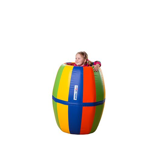 Tonneau de gymnastique et de jeu Sport-Thieme® « Arc-en-ciel »