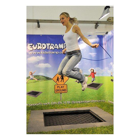 Trampoline pour enfants Eurotramp® «Playground Mini» Toile de saut rectangulaire