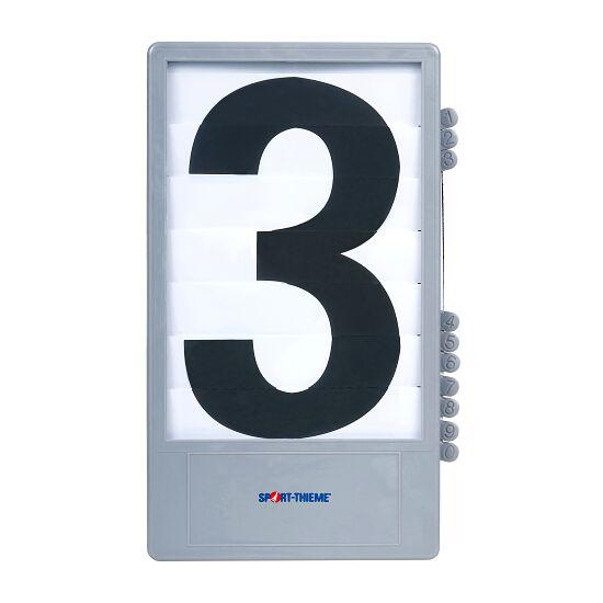 Trenas Cijfercassette voor manuele scoreborden Zwart