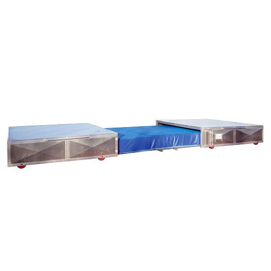 Verrijdbare afdekking voor polsstokkussen 400x530x80 cm